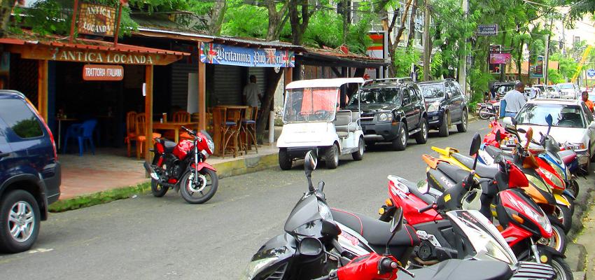 Улица в Доминикане